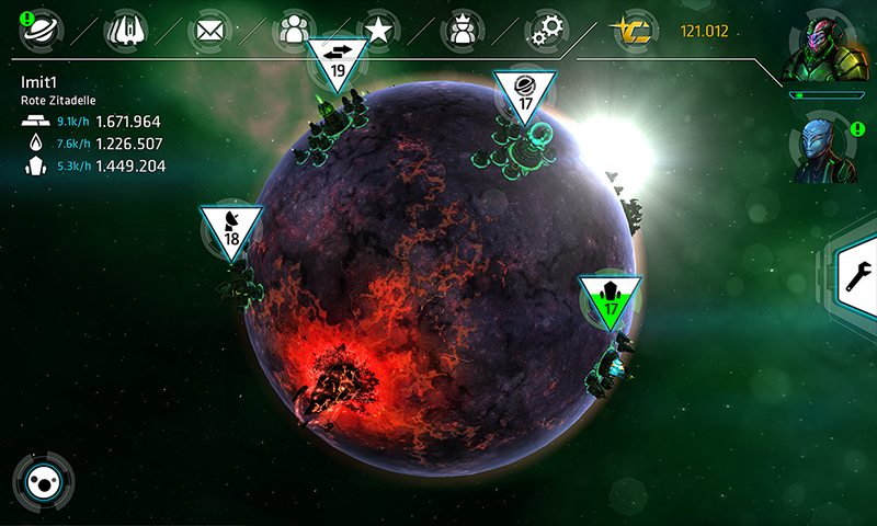 Galaxy on Fire™ - Alliances- screenshot
