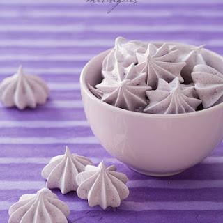 Blueberry Almond Meringues Recipe