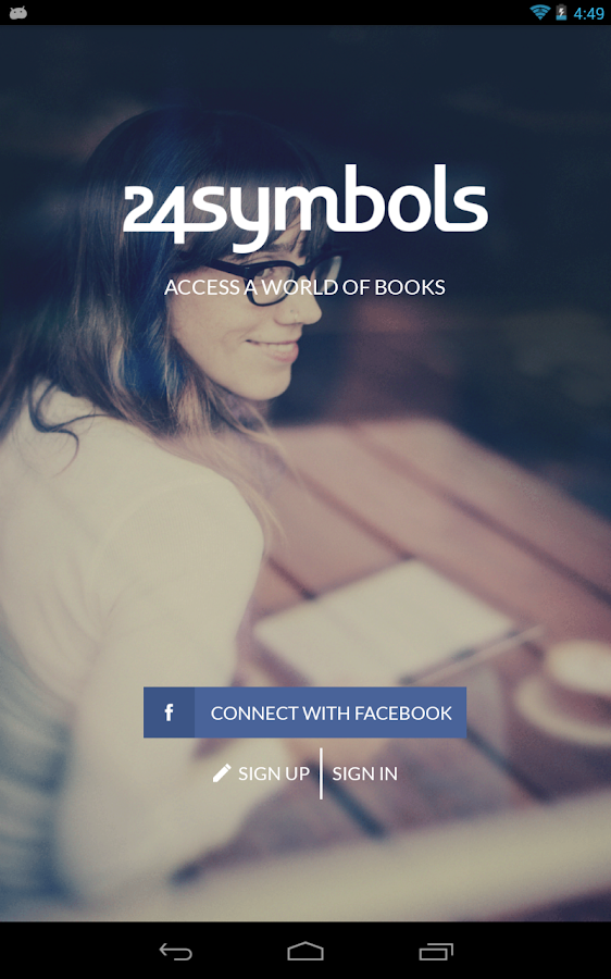 24symbols - A world of books - screenshot
