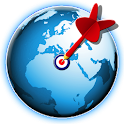 Bullseye! Geography Challenge icon