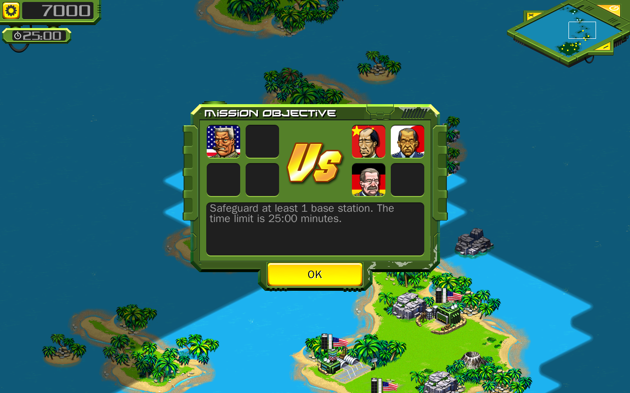 Tropical Stormfront LITE - RTS - screenshot