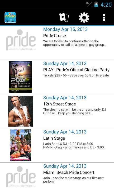 Miami Beach Gay Pride- screenshot