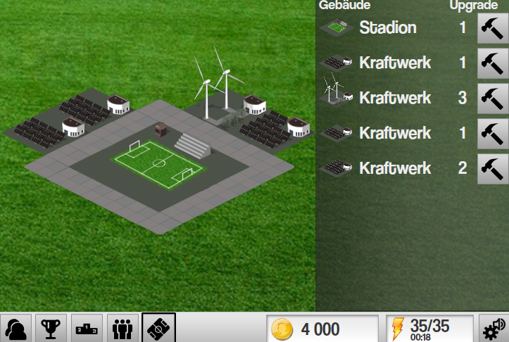Soccer Worldcup Mugalon 3D- screenshot