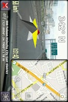 Screenshot of 3D Compass Pro (for Android 2)