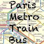 Paris Metro Bus Train