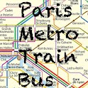 Train Paris Metro Bus icon