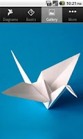 Screenshot of Origami Birds