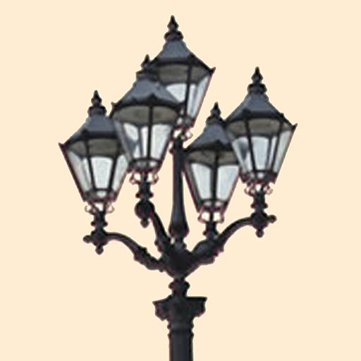 The Five Lamps LOGO-APP點子