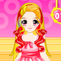 Cute Girl Fashion Hair Salon icon