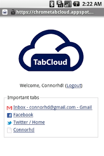 TabCloud - screenshot thumbnail
