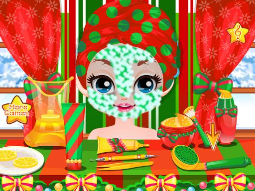 化妝公主聖誕節遊戲