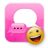 Pink iPhone GO SMS Theme