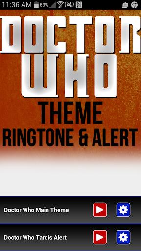 Doctor Who Theme Tardis Alert