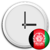 Afghanistan Clock & RSS Widget
