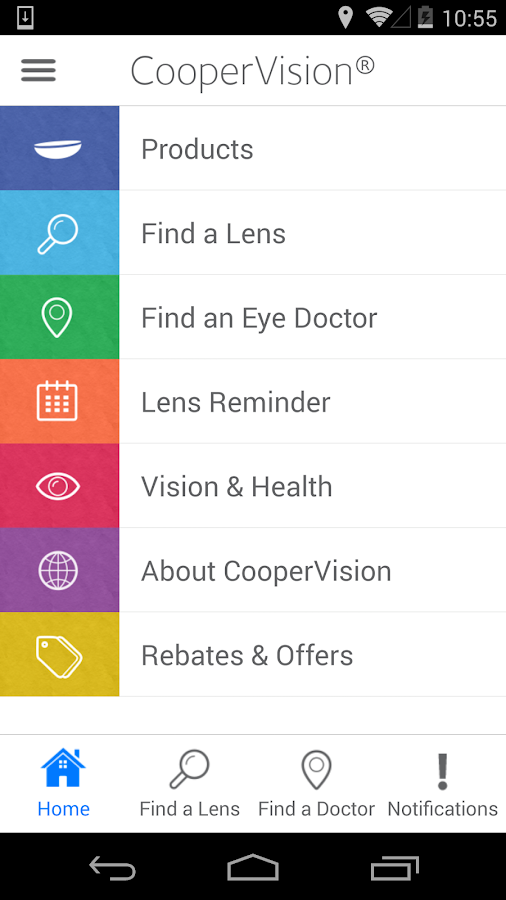 CooperVision- screenshot