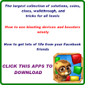 PET RESCUE SAGA TIPS TRICKS icon