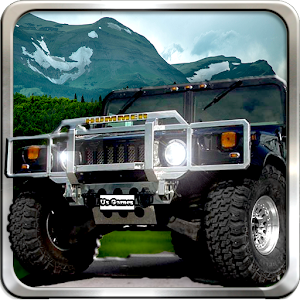 Uphill Truck - Jeep Racing