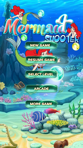 Mermaid Bubble Shooter