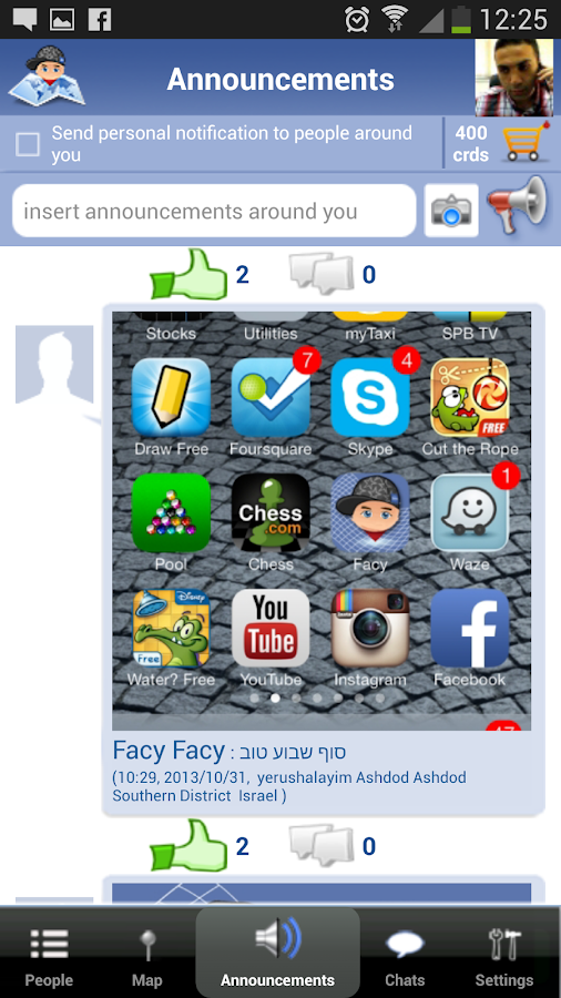 Facy - The World of People - screenshot