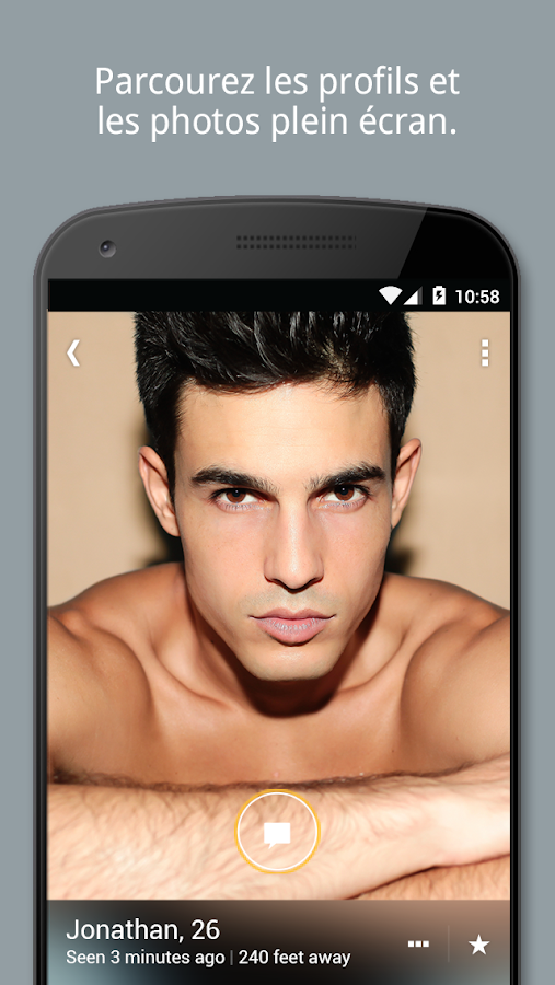 Grindr - social gay et le chat – Capture d'écran