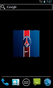 Ligue 1 French Team Flag LWP - screenshot thumbnail