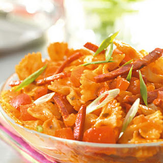 Strikjespasta Met Chorizo En Paprika