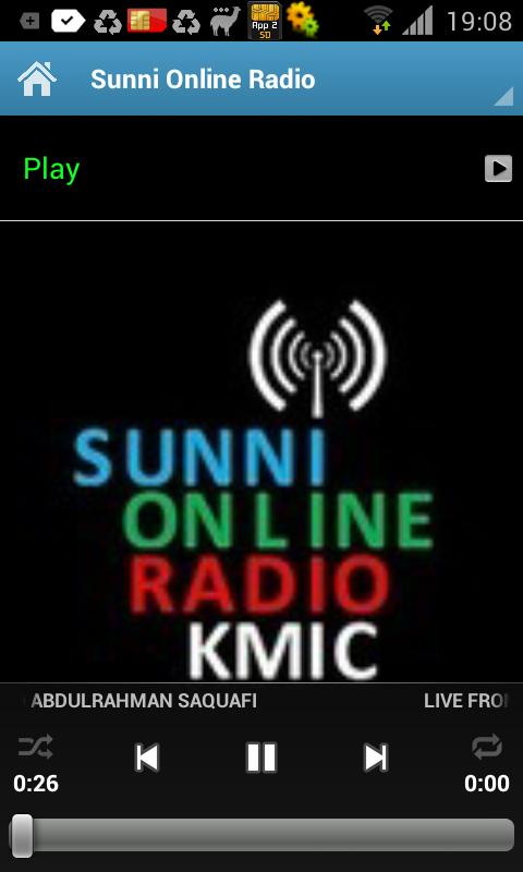 Sunni Online Radio - screenshot