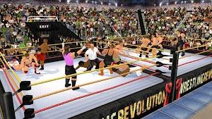 0 Wrestling Revolution 3D App screenshot