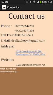The Islamic Center of America- screenshot thumbnail