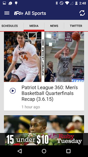 Patriot League Sports
