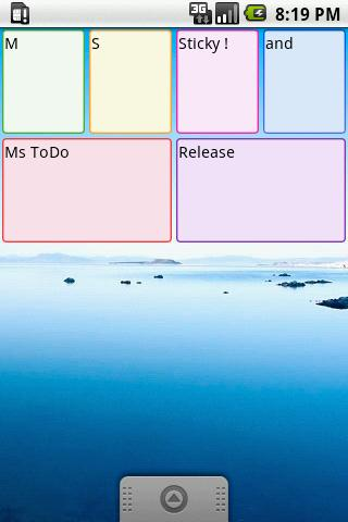 Ms Sticky Free (Postit app) - screenshot