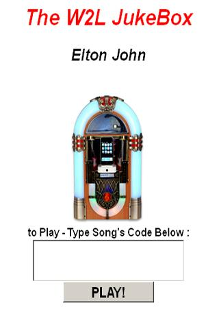 Elton John JukeBox - screenshot