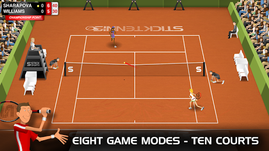 Stick Tennis Screenshot 28