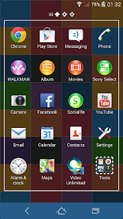 XPERIA™ Color Pixel Theme- screenshot thumbnail