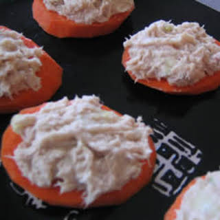 Carrot and Tuna Bites.