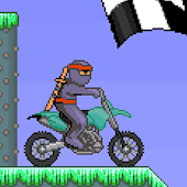Ninja Bike - Motorcross game