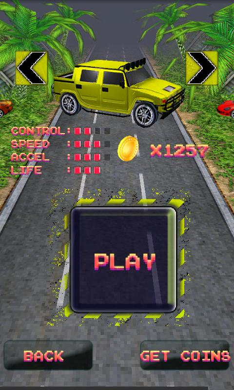Turbo 3d Racing- screenshot