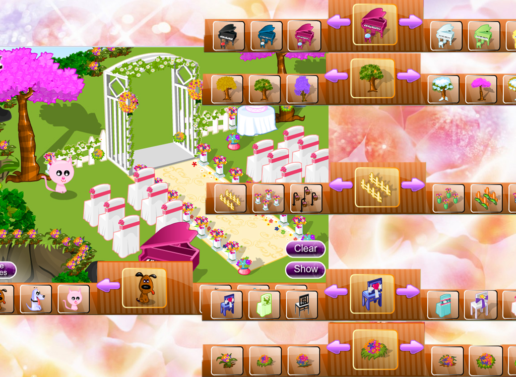 Wedding planner decoration - screenshot