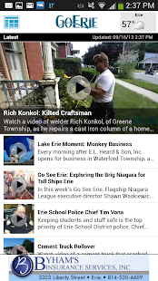 GoErie App- screenshot thumbnail