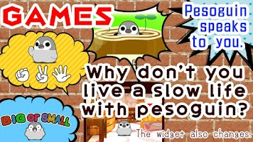 Screenshot of Pesoguin Clock Widget -Penguin
