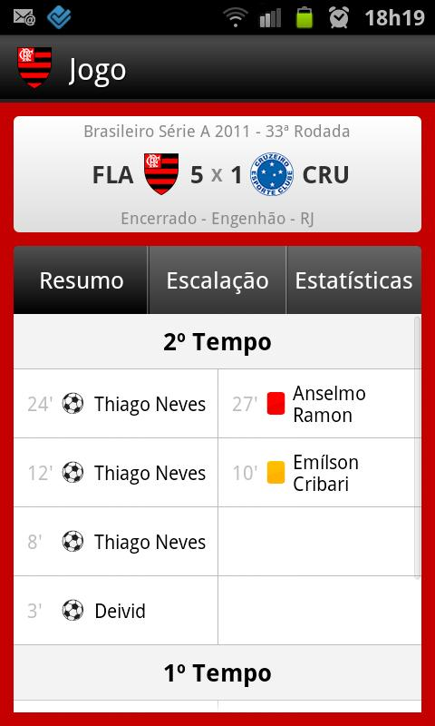 Flamengo SporTV - screenshot