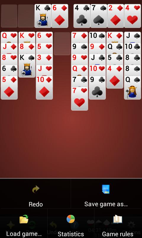 Solitaire Diamond Premium- screenshot