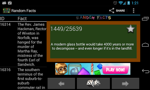 Random Facts 25,000+ - screenshot thumbnail