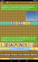 Screenshot of Words Solver 4 Friends Helper