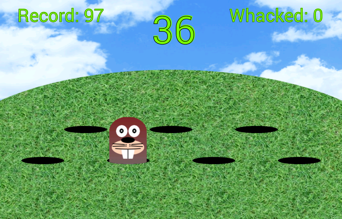 Whack A Mole- screenshot