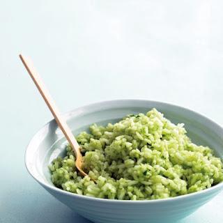 Cilantro-Lime Rice.