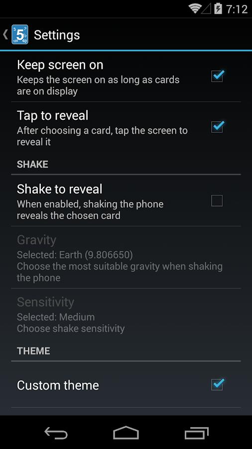 Scrum Poker Cards (Agile) - screenshot
