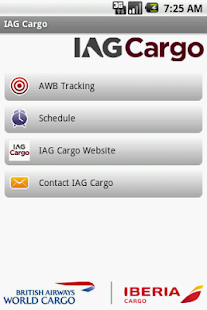 IAG Cargo- screenshot thumbnail