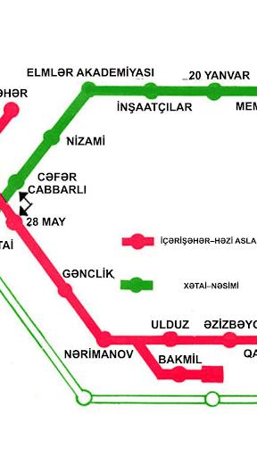 【免費交通運輸App】Bakı Metropoliteni-APP點子