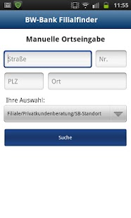 BW-Bank Filialfinder - screenshot thumbnail